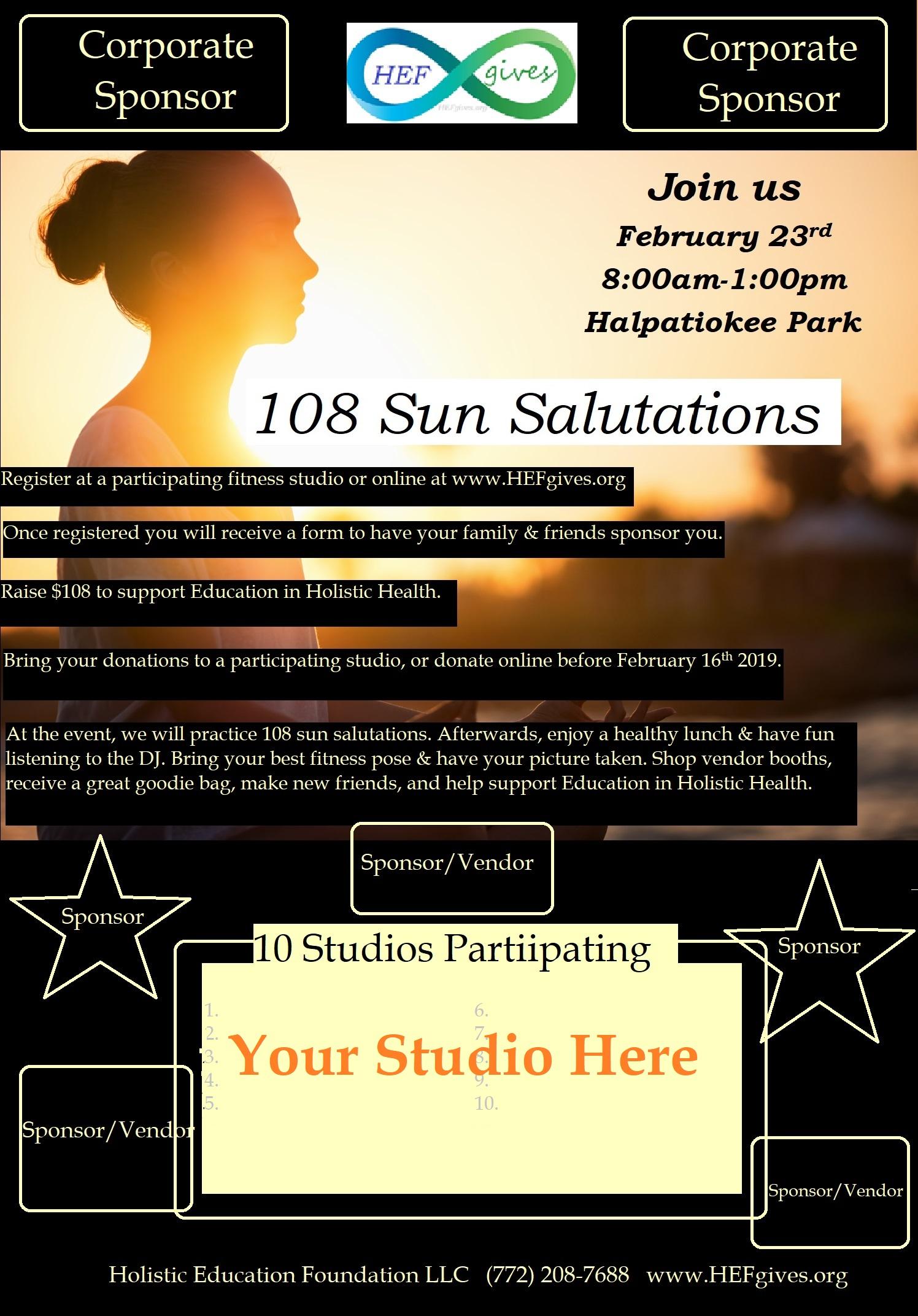 Yoga Challenge Studio Participation – Holistic Education